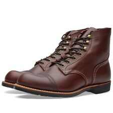 RED WING BOOTS IRON RANGER OXBLOOD MESA LEATHER 8119 MADE IN THE USA