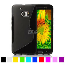 For HTC Case,Soft Gel S-Line TPU Silicone Case Cover Skin For HTC Desire Mobile