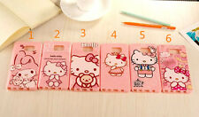 for Samsung Galaxy Note 2 3 4 5 pink  hello kitty TPU soft  rubber case cover