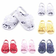 New Summer Toddler Girl Sandals Baby Little Kids Princess Soft Flower Shoes Size