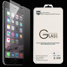 "New Premium Real Tempered GLASS Film Screen Protector Apple 5.5"" iPhone 6 PLUS"