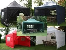 AirWave 4.5x3mtr Waterproof Pop Up Gazebo with Sides and Bag, Garden Gazebo