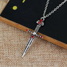 Lovely Sword Necklace & Pendant/20 Inches/51cms Length/Viking/Celtic/Gothic