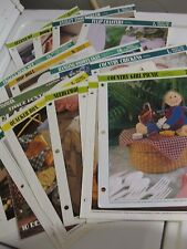Your Choice One Plastic Canvas Pattern Leaflet - (b) see photos & listing-