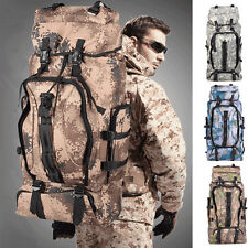Camo Outdoor Military Tactical Rucksack Backpack Camping Travel Hiking Bag
