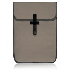 "Designer Laptop Sleeve By Ally Capellino Grey/Orange 13"" Retail £40"