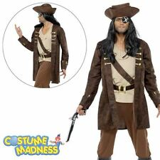 Buccaneer Costume- Adult Men Outfit Pirate Fancy Dress