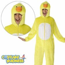 Duck Costume- Adult Outfit Party Animals Fancy Dress
