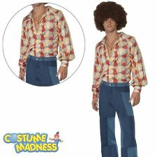 1970's Retro Costume- Adult Men Outfit 1970's Fancy Dress