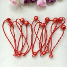 50pcs/lot kids Girls Red Elastic Rubber Hair Band Rope Ponytail Holder DIY