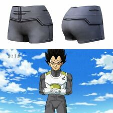 Gray Women Dragon Ball Z Son Goku Gym Sportwear Shorts Yoga Running Short Pants