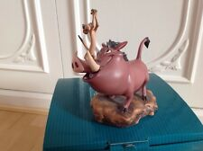 WALT DISNEY CLASSIC COLLECTION PUMBAA AND TIMON DOUBLE TROUBLE LION KING WDCC