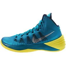 Nike Hyperdunk 2013 Men's Sizes Basketball Shoes Tropical Teal Yellow 599537 300