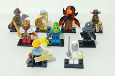 Set of 9 Lego Minifigures Series 13