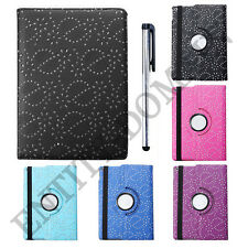 360° Rotating Bling Smart Leather Case Cover for Apple iPad Air 1st-Gen