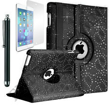 Leather 360° Rotating Bling Smart Stand Case Cover For iPad Mini & iPad Mini 2