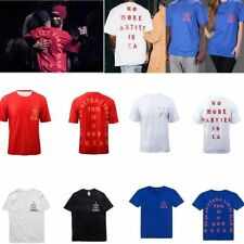 2016 Kanye West No More Parties In LA I Feel like Mamba Day Pablo Men's T-Shirts