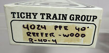 Tichy Train Group 4024 PFE 40' Reefer - Wood R-40-4 HO Kit NOS