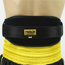 Weight Lifting Belt Nylon Gym Fitness Workout Back Support Straps Brace Black
