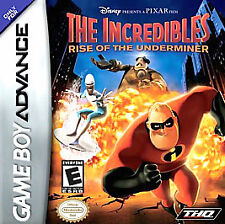 Incredibles: Rise of the Underminer (Nintendo Game Boy Advance, 2005)