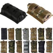 Molle Tactical Airsoft Fast Magazine Mag Pouch M4/M16 5.56 .223 AK Rifle Holster