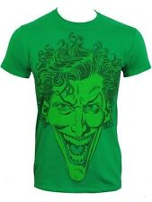 DC Comics Joker Mens Green DC Universe T-Shirt - NEW & OFFICIAL