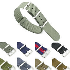 NATO G10 Deluxe Military Watch Strap By Watcharama - 18,20,22mm in 8 Colours
