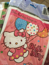 Hello Kitty Plastic Birthday Party Favors Gift Bags Loot Bag