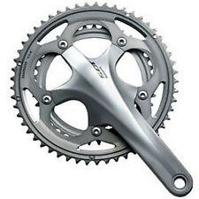 Shimano 105 5700 10 Speed Double Chainset Silver