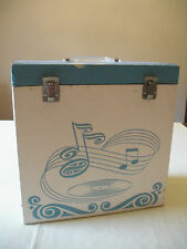 Vtg 1950s Vinyl Record Album Music Storage Case Box File Platter Pak 1252 13 1/2