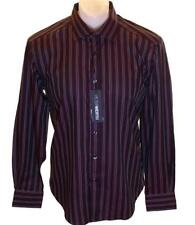 Bnwt Men's Authentic Peter Werth Long Sleeve Striped Shirt New