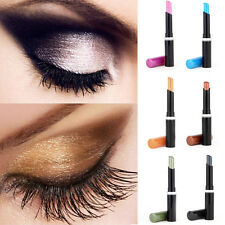 9 Colors Eyeliner Pencil Cosmetic Glitter Eye Shadow Lip Liner Pen Makeup Set OP