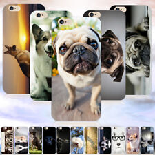 NEW Lovely Funny Dogs Pattern Hard Phone Case Cover For iPhone 4/5/5s/6s/6 Plus