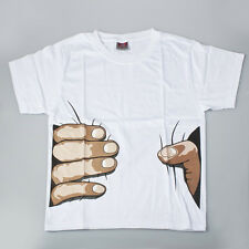 2012 New Originality Mens Unisex Cotton Hand Printed Short Sleeve T-shirt  XX-L