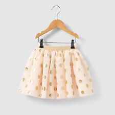 Abcd'r Girls Tulle Skirt With Polka Dots, 3-12 Years