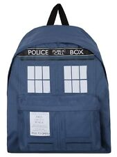 Doctor Who Tardis Blue Dr Who Backpack 14x41x31cm