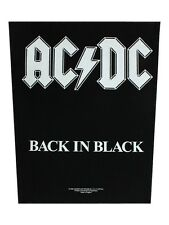 AC/DC Back In Black Backpatch - NEW & OFFICIAL