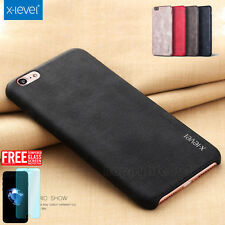 Hot Luxury Ultra-thin PU Leather Back Skin Case Cover For iPhone 6/6S/7/7 Plus