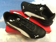 Puma Kids Tune Cat B 2 Jr. Black Leather Lace Sneaker Kid Size 1 to Youth Size 6