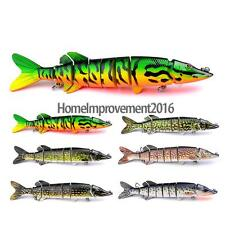 1pcs Multi Jointed Pike Fishing Lure Bait Swimbait Artificial Lifelike Bait Hook