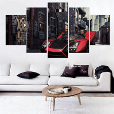 Canvas Art Wall Picture for Living Room Roadster Modular Picture 5pcs No Frame