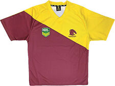 Broncos - NRL Official Boys Kids Home Supporter Jersey Jumper Guernsey
