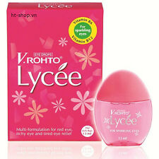 V.Rohto Lycee, box of 13ml Mentholatum, Anti-Red, Itchy, Tired eye Relief