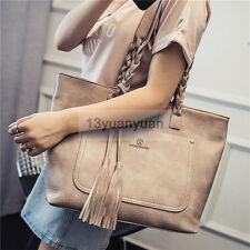 High Capacity Women Tote Bag Shoulder Handbag Shopper Shopping Bag