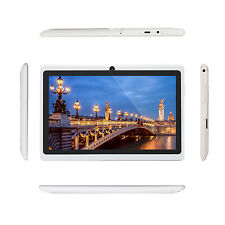 7'' Google Android 4.2 HD Tablet PC Laptop Wifi 4GB Dual Core Dual Camera White