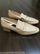 ZARA NUDE LOAFERS SHOES SIZE UK8/EUR41/US10 NEW WITH BOX