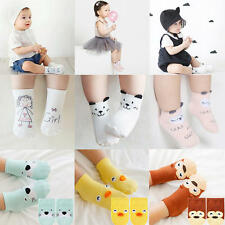Newborn Baby Girl Boy Toddler Anti-slip Socks Slipper Shoes Boots 0-4 Years Soft