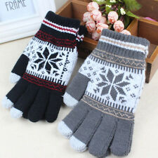 Fashion Warm Winter Gloves Knitted Touch Gloves Gloves Touch Screen Glove Common