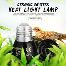 Pet Reptile Far Infrared Ceramic Emitter heat lamp Bulb For Reptile Pet Brooder