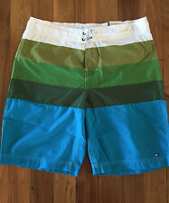 100% AUTHENTIC MENS TOMMY HILFIGER STANLEY BOARD SHORTS RRP $99.95